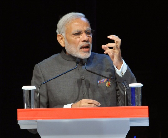 The Prime Minister, Shri Narendra Modi addressing at the ASEAN Business and Investment Summit 2015, in Malaysia on November 21, 2015.