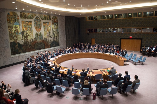 U.N. Security Council meeting to discuss the situation in the Middle East.