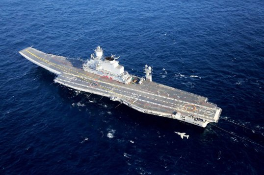 Aircraft carrier INS Vikramaditya - Courtesy Indian Navy