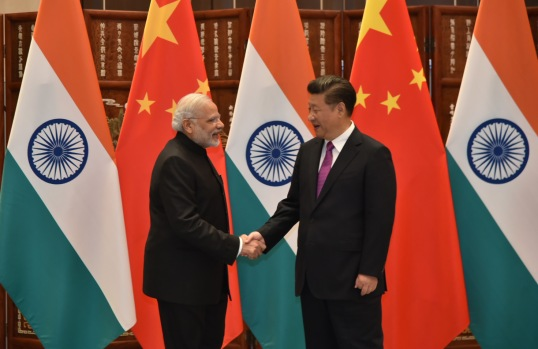 Indian Prime Minister Narendra Modi with Chinese President Xi Jinping during the G20 Summit, in Hangzhou, China on September 04, 2016. Photo: Press Information Bureau